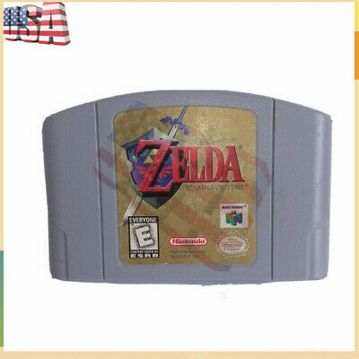 For Nintendo N64 game Legend of Zelda Ocarina of Time Game Card US/CAN Version