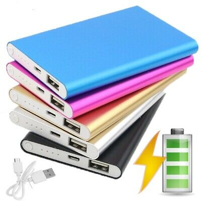 4000mAh slim Power Bank Portable USB Battery Charger IPhone Samsung tablet phone