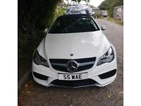 Mercedes benz e220 amg convertable sport white