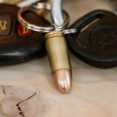 9mm Bullet Key Chains - Handmade in USA