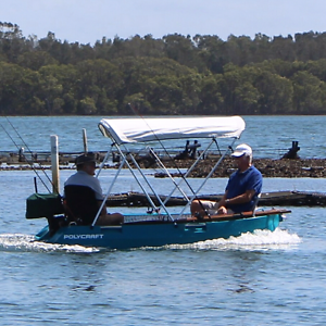 Polycraft Tuff Tender 3.0m 2013 Teal Morisset Lake Macquarie Area Preview