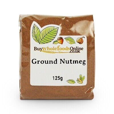 Nutmeg Ground 125g   Buy Whole Foods Online   Free UK P&P