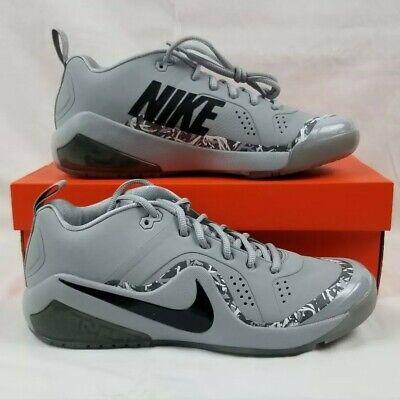 deb1a39fcc2 Nike Force Zoom Trout 4 Turf Baseball Shoes Men s Sz 10 Grey 917838-002 Gray