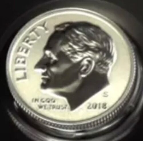 2018 S Reverse Proof Silver Dime