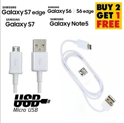 GENUINE SAMSUNG GALAXY S5 S6 S7 EDGE FAST QUICK CHARGER MICRO USB...