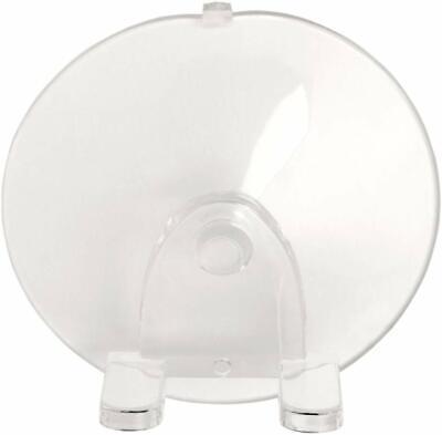 iDesign InterDesign 16100 Suction Hook Clear Razor Holder, Small