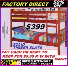 BRAND NEW BUNK BED CHEAP Single Solid Timber 50% Off $399 Ipswich Region Preview