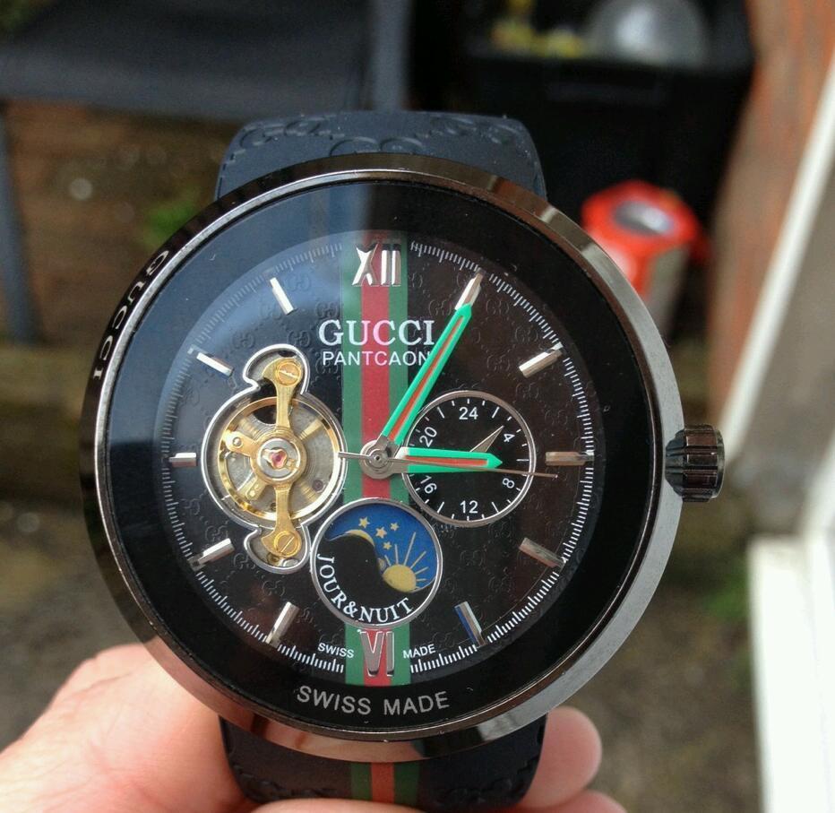 gucci 1142. gucci pantcaon men\u0027s luxury mint watch bargain quick sale 1142 t