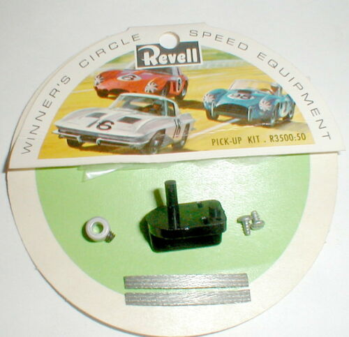 "(1) Revell Pick-Up Guide Set with Brushes & 1/8"" Post Complete Kit #R3500 NOS"