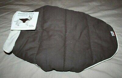 Dog Gone Smart - Dog Jacket - Brown w/Ecru Piping - Size L / 18'' Dog Gone Smart Jacket