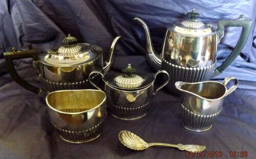 Sheffield A1 Silver Plate Tea & Coffee Service 5 Pieces