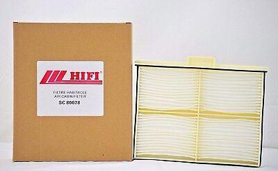 Cabin Filter Sc 80078 For Kobelco Excavator Part Lq50v01008p1