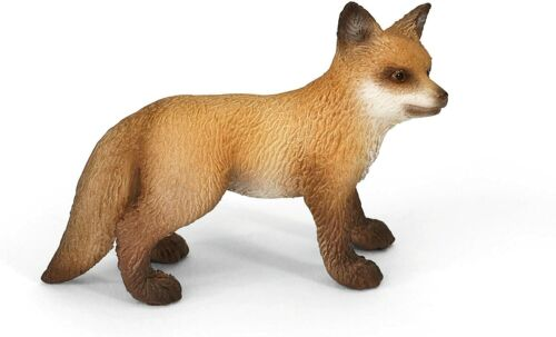 RED FOX KIT by Schleich/ toy/ 14649/ NEW WITH TAG/ RETIRED