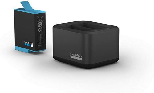 GoPro Dual Battery Charger and Battery for HERO9 Black #ADDBD-001