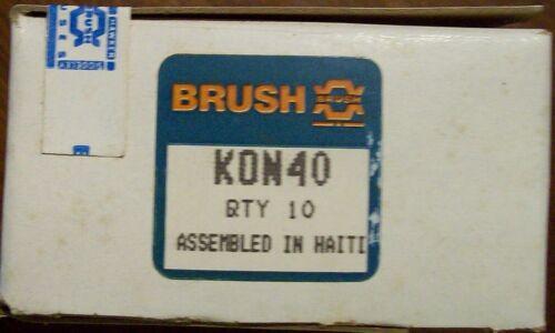 BRUSH KON40 Fuses 40A 250V NEW BOX OF 10 Free Shipping