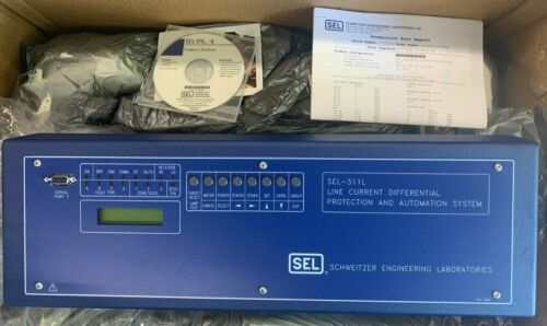 SCHWEITZER SEL-311L LINE CURRENT DIFFERENTIAL PROTECTION / AUTOMATION SYSTEM