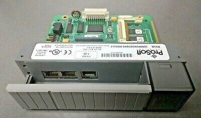 Allen Bradley Prosoft Technology Mvi46 Communications Module Fw Rev 1.03 5.1 Vdc
