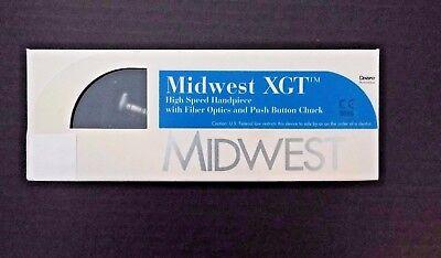 Midwest Xgt High Speed Handpiece Wfiber Optics - Dentsply Professional New