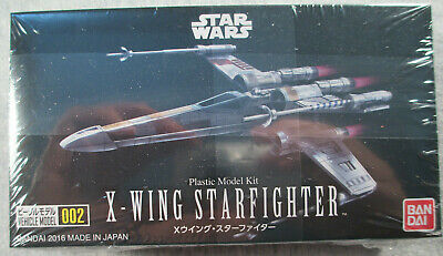 Vehicle Model 002 Star Wars X-Wing Starfighter Plast Japan Action Figures