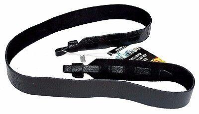Echt Leder DSLR Kamera Tragegurt Trageriemen Schwarz Leather Camera Strap *211