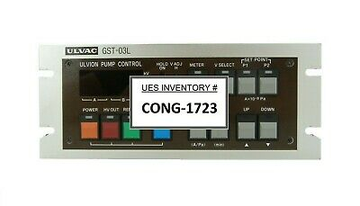 Ulvac Gst-03l Ulvion Pump Controller With Cable Set Working Spare