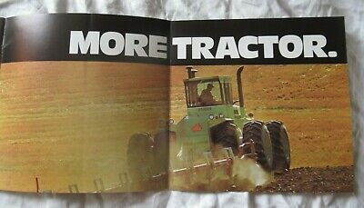 1977 Steiger Tractor Factory Production Process Booklet Brochure