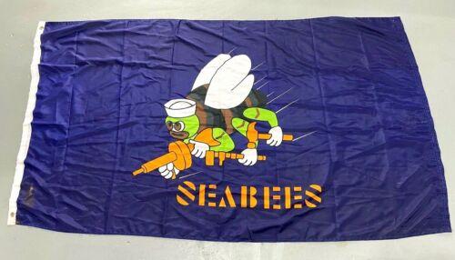 US Navy SEABEE Flag