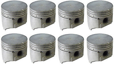 Cast Piston Set of 8 77-79 Cadillac 425ci V8 for sale  Bedford