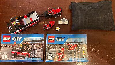 Retired LEGO City Racing Bike Transporter (60084)