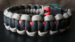 550 paracord survival bracelet wounded warrior project