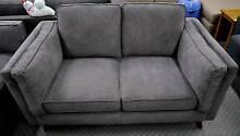 New Copenhagen Scandi 2 Seater Sofa Lounge Suite Charcoal Grey Melbourne CBD Melbourne City Preview
