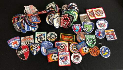 SOCCER PATCHES-HUGE LOT! 120+