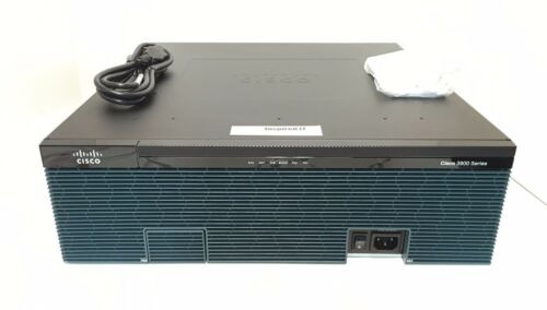 Cisco3945-v/k9 - Cisco 3945 Voice Bundle, Pvdm3-64, Uc License Pak