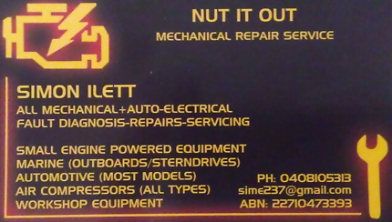 Mobile Mechanic + A/Electrics 0 Armadale Armadale Area Preview
