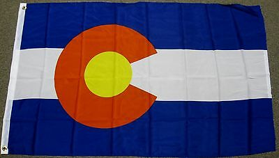 3X5 COLORADO STATE FLAG CO FLAGS STATES NEW USA US F232