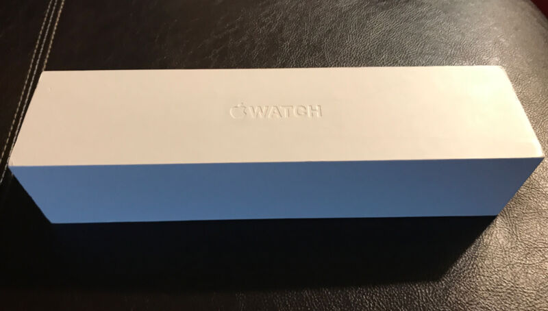 Apple Watch 7000 Series 38mm Gold Alu Ion Black -  EMPTY BOX ONLY