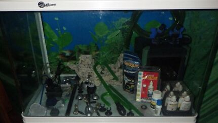 180L fish tank aquarium with all accessories just add water Rocklea Brisbane South West Preview
