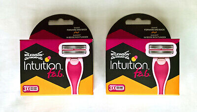 Wilkinson Sword Intuition FAB Blades (2x 3-Pack) [GENUINE / BRAND NEW & SEALED]