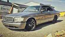 1989 Mercedes 500SEC W126 ****swap something of interest*** Coles Bay Glamorgan Area Preview