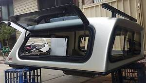 TOYOTA HILUX SR SR5 DUAL CAB ARB CANOPY + HD RACKS SILVER 1C0 Yagoona Bankstown Area Preview