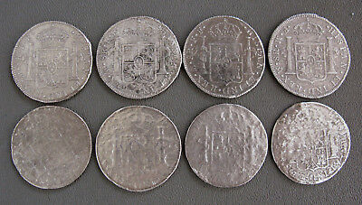 (8) 1783 Mexico 8 Reales from the EL CAZADOR SHIPWRECK COINS;F749