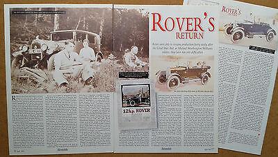 Rover's return
