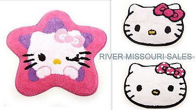 Hello Kitty Popular Character Adorable Facetime Star Rugs  Choice Styles   New