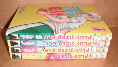 Plus-Sized Elf  Vol. 1,2,3,4 Manga English