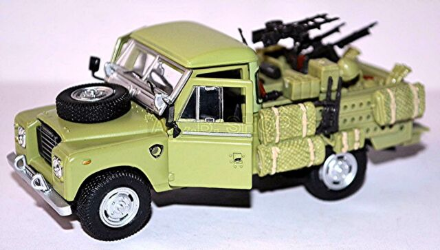 Land Rover 109 Military Military 1971-84 green green 1:43