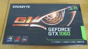 Gigabyte GeForce GTX 1060 G1 Gaming 6GB Graphics Card