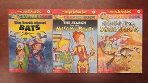 3 THE MAGIC SCHOOL BUS SCIENCE CHAPTER BOOKS #1, 2, 10 ~ 1st Eds Perth Region Preview