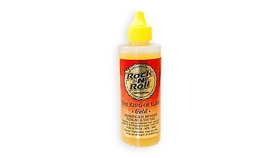 ROCK N ROLL GOLD BIKE BICYCLE CHAIN LUBE  FOR ROAD & MOUNTAIN BIKES 4 OZ NEW