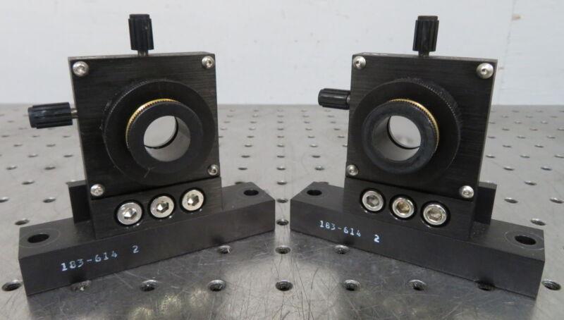 """C173437 Lot 2 Newport M-LP-05-XYZ 3-Axis Lens Positioner (for 1/2"""" 0.5"""" Optics)"""