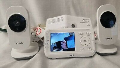 VTech VM3252-2 2.8in Digital Video Monitor w/Automatic Night Vision 2 Cams C 17